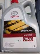 Toyota. 0W-30, синтетическое, 5,00л.