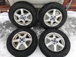 Отличная зима Bridgestone 185/70 R14 на литье Feid 4/100