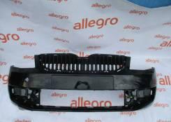 Бампер передний черный Skoda Octavia A7
