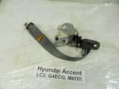 Ремень безопасности Hyundai Accent Hyundai Accent 2005, левый задний