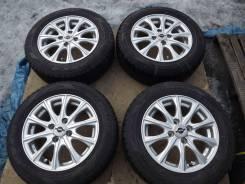 175/65 R14 Dunlop DSX-2 2014г на литье 4*100 Weds Axel