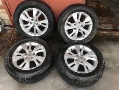 Оригинальные литые диски Honda с летней резиной R 16