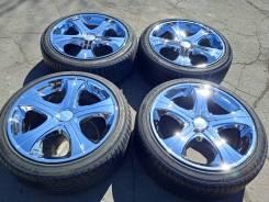 37019 Японский хром колёса Lowenhart R18 215/45 KF550