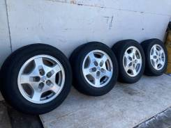 Комплект летних колёс. Nissan Presage, Bassara, R'nessa. 215/60R16