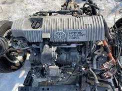 Двигатель+ вариатор в сборе Toyota Prius ZVW30 91000km (Видео Работы)