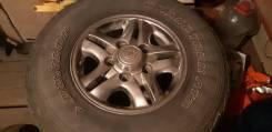 Комплект колёс, японские родные диски от лексуса LX470, резина Dunlop,