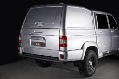 Бампер силовой задний BMS ALFA для УАЗ Патриот (пикап) 2008-2020