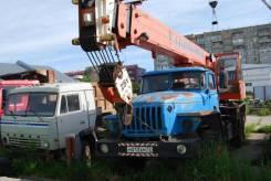 Ульяновец МКТ-25. Продаётся автокран МКТ 25, Ульяновец, на базе Урала, 6 650куб. см., 27,40м.