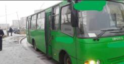Богдан А201. Автобус, 21 место, С маршрутом, работой