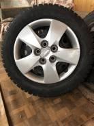 Зимние шины 195/65R15 Nokian Nordman 4 с дисками и колпаками