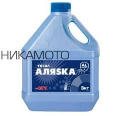 Тосол Аляска А-40 готовый -40C синий 3 кг 5068 АЛЯSКА 5068