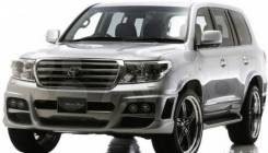 Обвес кузова аэродинамический. Toyota Land Cruiser, GRJ200, URJ200, UZJ200, UZJ200W, VDJ200. Под заказ