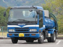 Isuzu Forward. ассенизатор 5 тонн в Красноярске, 7 160куб. см. Под заказ