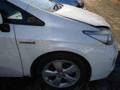 Крыло переднее правое Toyota Prius ZVW30 2ZR-FXE 2012 белый перламутр