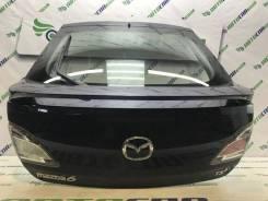 Крышка багажника в сборе Mazda 6 Gh 2011 [GSYN6202XF] Лифтбек Дизель, задняя