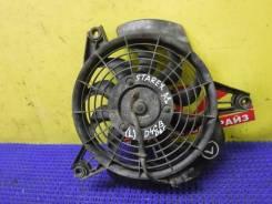 Вентилятор радиатора кондиционера Hyundai Starex A1 D4CB 977304A005, левый 977304A005