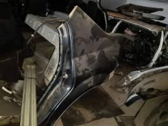Крыло заднее левое Renault Logan `08 черный