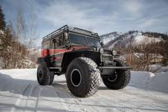 Sever Trucks. Вездеход север 3310, 1 800куб. см., 1 000кг., 1 870кг.