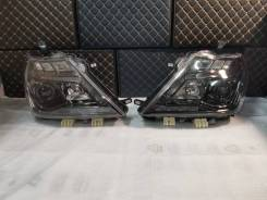 Фары Nissan Patrol Y62 2010-2017 Nismo Темные