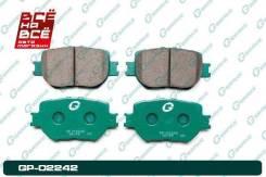 Колодки тормозные перед Toyota Premio / Allion AZT240 / ZZT245 / Caldina #ZT24# / OPA #CT1# / Coroll, шт G-Brake GP02242 GP02242
