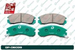 Колодки тормозные перед Mitsubishi Airtrek / Outlander 03-06, шт Gbrake GP06039 GP06039