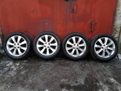 Комплект колёс на литых дисках на Хёндай Соларис Оригинал. 195/55R16.