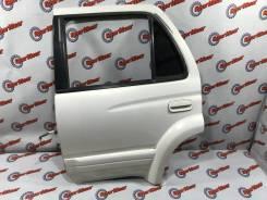Дверь задняя левая цвет KF7 Toyota Surf RZN185 №86 2002г в идеале