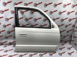 Дверь передняя правая цвет KF7 Toyota Surf RZN185 №86 2002г в идеале