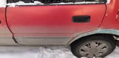 Дверь боковая задняя левая Toyota Sprinter Carib ae 95 1989 год