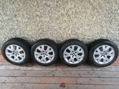 Зимние колеса в сборе на литье BMW (5x120) 205/55R16 Hankook шипы