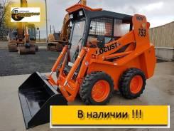 Locust L753. Мини погрузчик (г/п 750 кг) в Екатеринбурге, 750кг., Дизельный, 0,43куб. м.