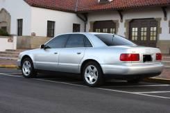 Audi A8. ПТС 1999 светло-серый 310л. с