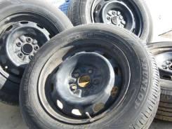 Комплект штампованных дисков на шинах 185/70R14 Dunlop