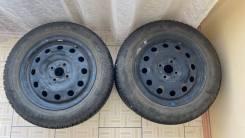 Штампованные диски с летней резиной 185/65/R15