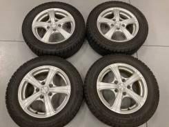 Комплект колёс 195/65/15 Bridgestone на литье R15; 5x114,3