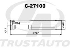 Защитный комплект амортизатора (ТА) C-27100 Trustauto