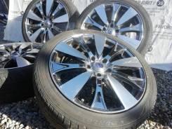 Фирменные литые диски Rays Versus на шинах Dunlop 215/45R18