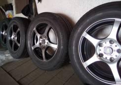 Колеса летние Bridgestone 205/65/R15, на литье Cross Street R15