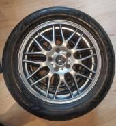 Продам комплект колес 225/55/17 на Японском литье