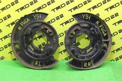 Щиток тормозного диска Nissan Fuga 2014 [440301MB6A] Y51 VQ37VHR, задний