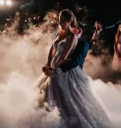 Спецэффекты на свадьбу, тяжелый дым и холодные фонтаны