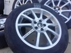 Фирменные литые диски Sport Technic на шинах Bridgestone 205/55R16