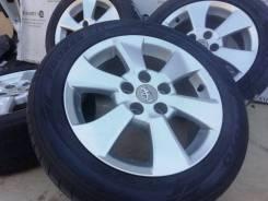 Оригинальные литые диски Toyota на шинах по парно 205/55R16