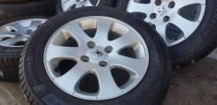 Оригинальные литые диски Peugeot на шинах Michelin 185/65R15