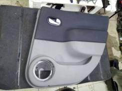 Обшивка двери Renault Scenic 2 2006 [8200793805], правая задняя