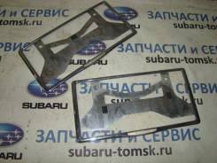 Рамка под номер хром комплект из 2х шт BR9 2009г