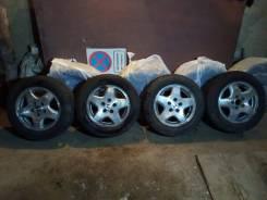 Оригинальные колеса Honda R15, 4шт. + резина dunlop sp winter ice 01