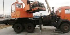 Ульяновец МКТ-25. Автокран Ульяновец, 25 тонн, шасси Камаз, 10 850куб. см., 22,00м.