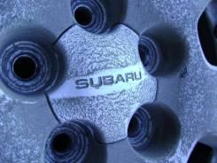 Комплект дисков от Subaru Forester с резиной Goodyear Ice Navi Hybrid.
