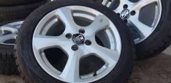 Фирменные литые диски OZ MSV на шинах Dunlop 185/55R15